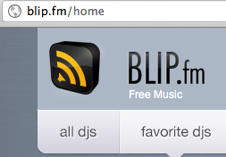 Be your own DJ on Blip.fm
