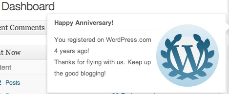 Rambling on reaching 4 year blog milestone (2/2)