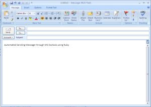 Outlook email image
