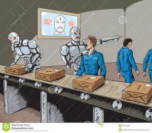 robot-replacement-robots-replacing-human-workers-factory-33353269